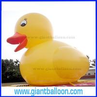 PVC Big Inflatable Yellow Duck