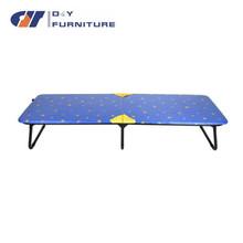 Round tube metal single bed ,modern bedroom set ,one -layer metal bed