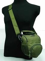 Airsoft MID DSLR/SLR Camera Case Shoulder Bag OD waist bag