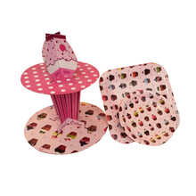 decorative paper cupcake stand disposable cupcake trays