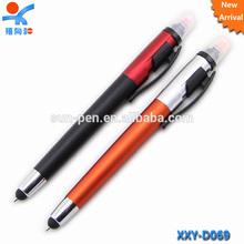 highlighter logo touch screen stylus ball pen