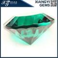 de gran tamaño del milenio corte forma redonda de vidrio esmeralda piedras preciosas