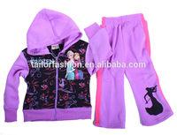china cheap tracksuit frozen kids tracksuit girl frozen cheap tracksuits sport wear