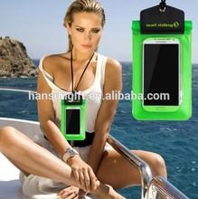 Fluorescent PVC waterproof Dry bag for phone/camera/keys