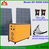 500W CE&RoHS Certified residential solar power systems