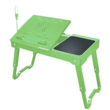 E Table Portable Laptop Table With light