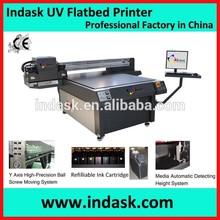 Indask new designed UV printer 1.2m*1.2m glass/ceramic tile/metal/PVC/tin plate printer