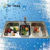 Industrial stainless steel wash basins / Hot sale popular style kitchen appliance of sink/wash basin