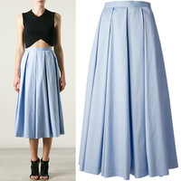 2014 newly classic fashion A-line pleated skirt for women