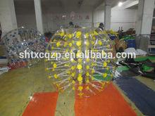 inflatable human balloon bumper ball