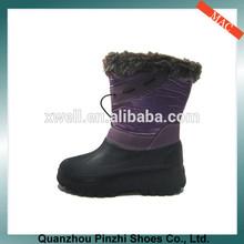 Hotselling Cheap EVA Sole Boots Elegant Dark Violet Half Boots