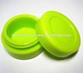 de grado de alimentos pequeño de color rasta 7ml antiadherente de silicona bho contenedores de aceite de cera 710 vaporizador de butano aceite de hachís