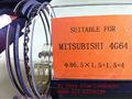 Mitsubishi 4G64 anillo de pistón / oem pistón anillo fabricante