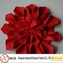 Beautiful felt flower decorations