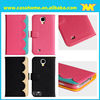 Professional case factory flap mobile phone case wholesale for samsung s4 case for girl