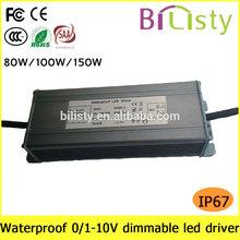 CV mode waterproof led driver 12V 24V for outdoor led strip