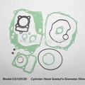 Motocicleta junta reacondicionamiento kit para CG125 CDI