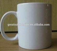 11oz sublimation white ceramic blank mug GRADE A