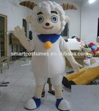 Nueva de la llegada de adultos cabra agradable traje de la mascota