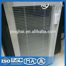 Lastest aluminium build in shutter window internal blinds YK-S01