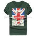Jsx402, fabricante de china, alibaba de compras online de roupas, 2014 grosso a granel de verão impressa t-shirt dos homens, camiseta de algodão