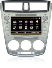 "classic digital 8"" for honda city 2013 touch screen dvd gps"