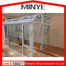 2015 aluminum sun room/ sunroom / glass house/ winter garden/greenhouse made in china shanghai