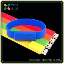 Hot Selling Bracelet USB , Bracelet USB Flash Drive With Free Logo Printing