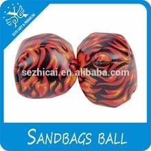 Best Selling Funny Custom Sandbags Ball Soft Footbag Juggling Ball Soft Low Price Kick Ball Basketball