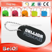 Colorful Aluminium | silicone Dog Tag