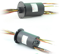 MT025 series through bore/hole slip ring from Moflon hole punch ring