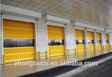 Motorized Garage Rolling Shutter Door with Auto-rebound Device