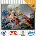 imagen desnuda hechas a mano del azulejo del mosaico 3d mural de la pared desnudos chica 3d fotos para la decoración del hogar