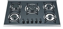 multi-burners tempered glass gas stove, gas cooktops, cookers