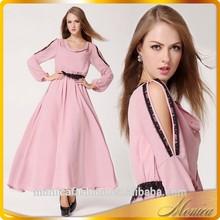Turkish Evening Dress 2014 Women Summer Chiffon Long Sleeve Evening Dress China