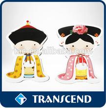 Best sale customized cheap paper fridge magnet/Cheap custom souvenir 3d pvc fridge magnets