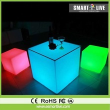 led funiture led light cube chair bar lighting and garden led light impact resistant and long service life