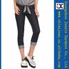 2014 new design pencil pants stretch Slim Cropped Jeans women Short Trousers (JXW110)