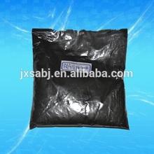 Carbonized silica fume