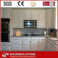Superior Quality Agglomerated Solid Surface Quartz Stone Countertop SQC068
