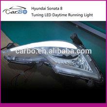 Sonata 8 Car Special DRL Led Daytime Running Light For Hyundai Sonata 8(2013)