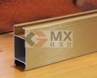 Supply high quality aluminium profile for kitchen cabinets, wardrobes and shower enclosure