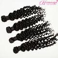 Cabello Homeage sin procesar se pueden teñir la virgen remy del pelo humano barato rizado natural extensiones de la trenza del pelo