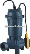WQD10-12-0.75 sewage cutting pump,underwater sewage pump