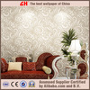 Wave design wallpaper waterproof pvc wallpaper sale from china