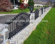 decorative metal modern gates design and fences