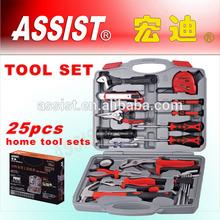 Hot selling 25pcs novelty mini hand tool set for promotion