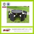 Muebles modernos de ratán para jardín y patio exterior venta al por mayor importado y fabricado en China