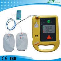 LTD7000 CE portable clinic automatic external defibrillator for family
