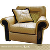 New JS12-01 signle sofa with solid wood in living room from JL&C furniture lastest designs 2014 (China supplier)